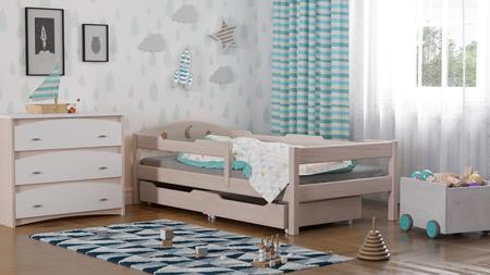 letto in legno massiccio