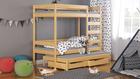 letto a castello in legno per bambini