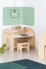 mobili in compensato, mobili ecologici, mobili per bambini, scrivania per bambino, scrivania per bambini,